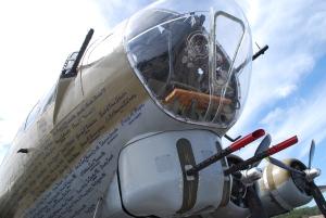 B-17 nose
