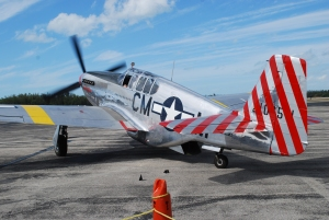 P-51 taxi out