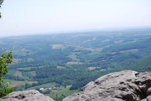 Berks and Lehigh from the AT Pinnacle