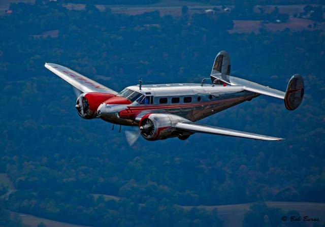 Beech 18 courtesy of Bob Burns